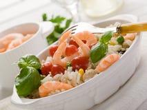 шримс салата риса Стоковые Изображения RF