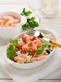 шримс салата риса Стоковые Изображения