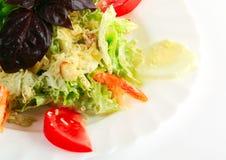 шримс салата цезаря Стоковое Изображение RF