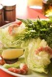 шримс салата стоковые фотографии rf