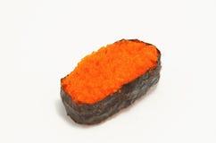 Шримс eggs суши, японская еда Стоковая Фотография RF