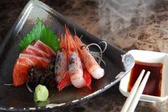 шримс sashimi Стоковое Изображение RF