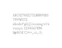 Шрифт алфавита плана Dymond Speers Стоковое Фото