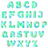 Шрифт диаманта Стоковые Фото