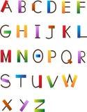 Шрифт потехи Стоковое Изображение