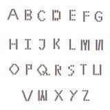 Шрифт цвета Стоковые Фото