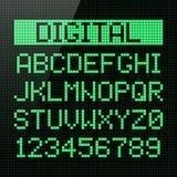 Шрифт цифров бесплатная иллюстрация