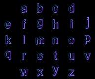 шрифт 3d изолированный на черной предпосылке бесплатная иллюстрация
