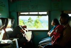 Шри-Ланка, поезд стоковое изображение