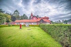 Шри-Ланка, Nuwara Eliya: колониальное великобританское почтовое отделение стоковое фото rf