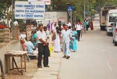 Шри-Ланка, streetlife стоковая фотография