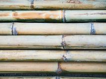 Штабелировал бамбуковый поляка Стоковая Фотография RF
