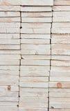 штабелированная древесина Стоковая Фотография RF