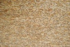 Штабелированная каменная стена Стоковое Изображение