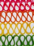 штабелированная тесемка конфеты Стоковые Фотографии RF