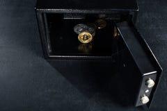 Штабелированное cryptocurrency Bitcoin стоковое изображение rf