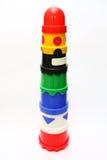 штабелированные игрушки стоковые изображения