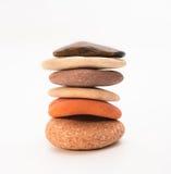Штабелированные камни Дзэн Стоковое Изображение RF