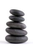 штабелированные камни Стоковая Фотография