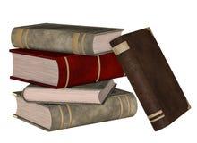 Штабелированные книги иллюстрация вектора