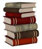 Штабелированные книги иллюстрация штока