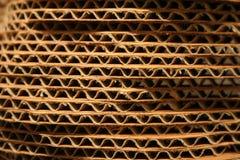 штабелированные листы картона Стоковое Фото