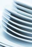 штабелированные плиты Стоковые Изображения RF