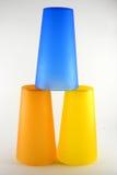 Штабелированные чашки Стоковая Фотография RF