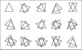 Штабелированный треугольник бесплатная иллюстрация