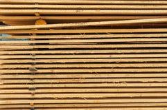 Штабелировано вверх по древесине стоковые фото