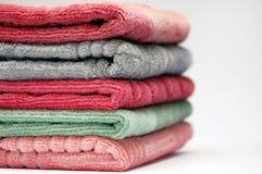 штабелируйте полотенца Стоковые Фотографии RF