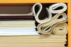 Штабелированные бумаги офиса Стоковое Изображение RF