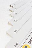 Штабелированные бумаги Стоковые Фото