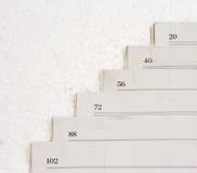 Штабелированные бумаги Стоковые Изображения RF