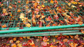 Штабелированные загородки стоковое фото