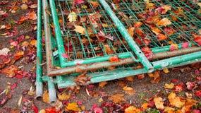 Штабелированные загородки стоковая фотография rf