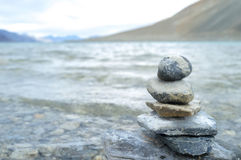 штабелированные камни Стоковое фото RF