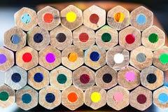 Штабелированные карандаши Стоковые Изображения