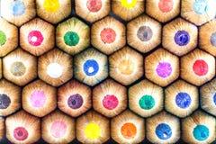 Штабелированные карандаши Стоковое Изображение RF