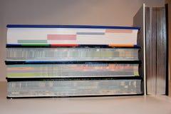 штабелированные книги стоковые фото