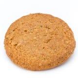 Штабелированные печенья короткого печенья на белой предпосылке Стоковые Фото