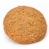 Штабелированные печенья короткого печенья на белой предпосылке Стоковое Изображение