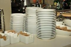 штабелированные плиты Стоковые Фотографии RF