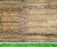 Штабелированные связки соломы Стоковые Изображения RF