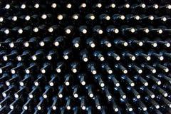 Штабелированные botles вина Стоковая Фотография
