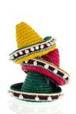 Штабелированные sombreros Стоковое фото RF