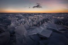 Штабелированный лед Стоковые Изображения RF