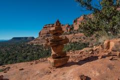 Штабелированный камень Стоковые Фото