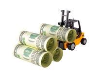 Штабелировать денег Стоковые Изображения