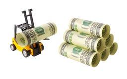 Штабелировать денег Стоковое Изображение RF